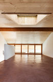 Architectuur, binnenlands, leeg huis stock fotografie