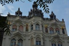 architectuur in Boedapest Stock Afbeeldingen