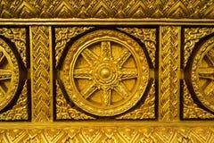 Architectuur boeddhistisch kunstwerk Royalty-vrije Stock Fotografie