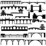 Architectuur bruggen Royalty-vrije Stock Foto
