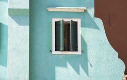 Architectuur in Burano Royalty-vrije Stock Afbeelding
