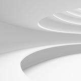 Architectuur Cirkelachtergrond Abstract de bouwontwerp Stock Foto