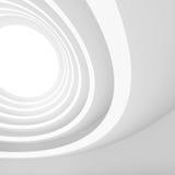 Architectuur Cirkelachtergrond Abstract de bouwontwerp Royalty-vrije Stock Foto's