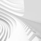 Architectuur Cirkelachtergrond Abstract de bouwontwerp Royalty-vrije Stock Afbeelding
