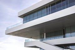 Architectuur in de lucht Stock Fotografie