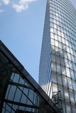 Architectuur. de toren bouw stock afbeeldingen