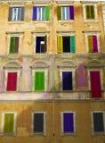 Architectuur en kleuren Royalty-vrije Stock Fotografie