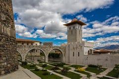 Architectuur en landschap van Georgië royalty-vrije stock afbeelding