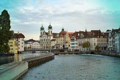 architectuur in Europa Royalty-vrije Stock Foto