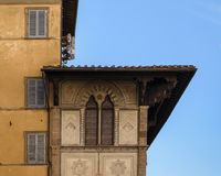 Architectuur in Florence Stock Foto