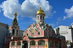 Architectuur, hemel, Rusland, Simbol, koepel, Moskou, kerk, orthodoxe kerk Stock Afbeeldingen