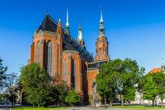 Architectuur in Legnica polen Stock Afbeelding