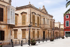 Architectuur in Menorca Stock Fotografie