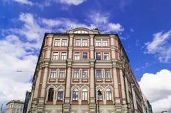 Architectuur in Moskou Stock Afbeeldingen