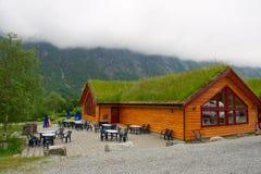 Architectuur Noorwegen Royalty-vrije Stock Afbeelding