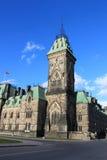 Architectuur in Ottawa, Canada royalty-vrije stock foto's