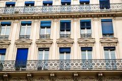 Architectuur in Parijs Stock Afbeelding