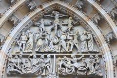 Architectuur in Praag Royalty-vrije Stock Afbeeldingen