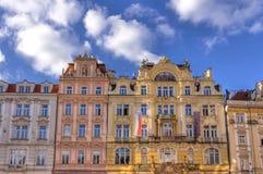 Architectuur in Praag Stock Foto