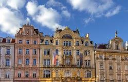 Architectuur in Praag Stock Fotografie