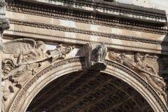 Architectuur in Rome Royalty-vrije Stock Afbeeldingen