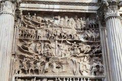 Architectuur in Rome Royalty-vrije Stock Afbeelding