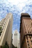 Architectuur in Sao Paulo Stock Afbeelding