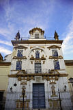 Architectuur in Sevilla Royalty-vrije Stock Afbeeldingen
