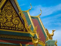 Architectuur in sihanoukville stock afbeelding