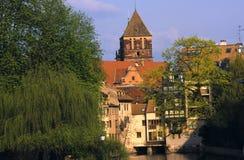 Architectuur in Straatsburg, Frankrijk Royalty-vrije Stock Fotografie