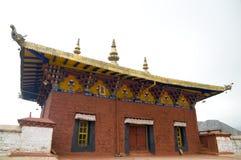 Architectuur in Tibet royalty-vrije stock foto's