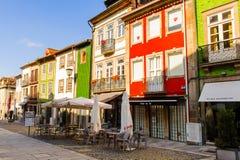 Architectuur van Braga, Portugal stock afbeelding