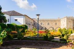 Architectuur van Braga, Portugal stock foto's