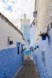 Architectuur van Chefchaouen, Marokko royalty-vrije stock fotografie