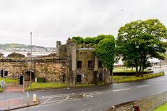 Architectuur van Conwy, Wales, Groot-Brittannië Royalty-vrije Stock Fotografie