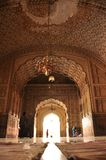 Architectuur van de Badshahi-Moskee, Lahore royalty-vrije stock foto