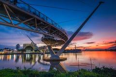 architectuur van de brug van darulhana Stock Afbeelding