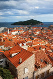 Architectuur van de Stad van Dubrovnik de Oude Stock Fotografie