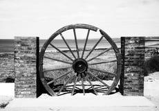 Architectuur van de strand de zwart-witte fotografie Stock Fotografie