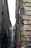 Architectuur van de straten van Rome Royalty-vrije Stock Foto