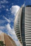 Architectuur van de toekomst. Royalty-vrije Stock Afbeelding