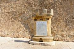 Architectuur van Gr Jadida, Marokko stock foto's