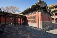 Architectuur van het Paleis van Shenyang de Keizer Royalty-vrije Stock Afbeeldingen