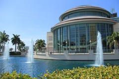 Het Palm Beach van het Westen van het Centrum van de kunst Stock Fotografie