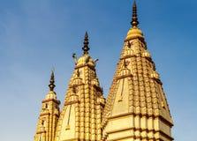 Architectuur van Indische Hindoese tempels Royalty-vrije Stock Afbeeldingen