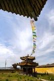 Architectuur van Klooster in Mongolië stock afbeeldingen