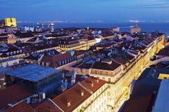 Architectuur van Lissabon Stock Afbeelding