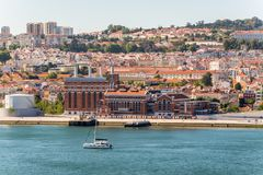 Architectuur van Lissabon, Portugal stock afbeeldingen
