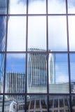 Architectuur van Londen, bedrijfsdistrict Stock Afbeelding