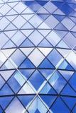 Architectuur van Londen, bedrijfsdistrict, 30 St Mary Axe Royalty-vrije Stock Afbeeldingen